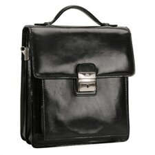 Italico Treviso Vertical Flap-Over Carry all Bag