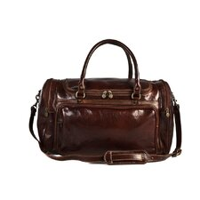 "Piana 20"" Italian Leather Duffle"