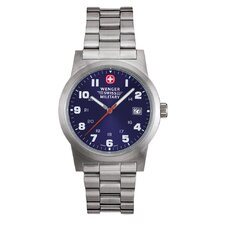 "Swiss Military Uhr ""Field Classic"" mit Edelstahl-Armband"