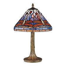 "Dragonfly 18"" H Table Lamp"