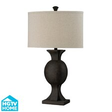 """HGTV Home Modern Heritage 32"""" H Composite Table Lamp"""