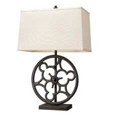 "Ironton 29"" H Table Lamp with Rectangle Shade"