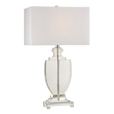 "26"" H Table Lamp with Rectangular Shade"