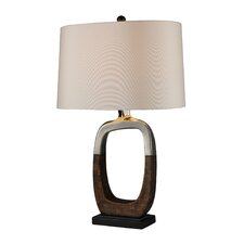 "Irvona 29"" H Table Lamp with Drum Shade"