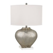 "Oversized 28"" H Table Lamp with Drum Shade"