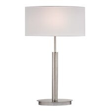 "24"" H Table Lamp with Oval Shade"