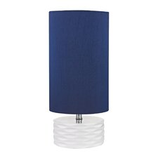 "Accent 17.5"" H Table Lamp with Drum Shade"
