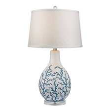 "27"" H Cermaic and Acrylic Table Lamp"