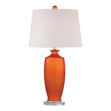 "Eco Friendly 27"" H Table Lamp with Empire Shade"