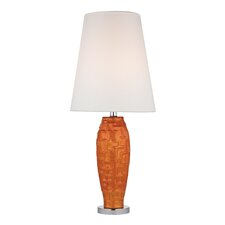 "Brick Work 27"" H Table Lamp with Empire Shade"