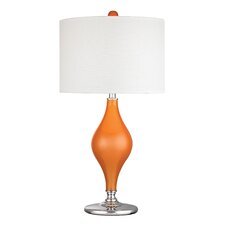 "27"" H Glass Table Lamp"