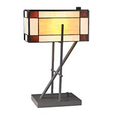 "20"" H Angular Table Lamp"