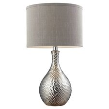 "HGTV Home 21.5"" H Table Lamp with Drum Shade"