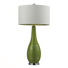 "HGTV Home 27"" H Table Lamp with Drum Shade"