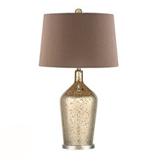 "HGTV Home 27"" H Table Lamp with Empire Shade"