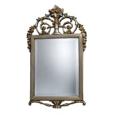 Stewart Mirror in Antique Silver and Gold