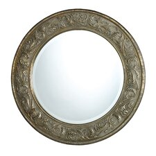 Jacobson Mirror in Seahill Silver