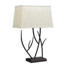 "Winter Harbour 27"" H Table Lamp with Rectangle Shade"
