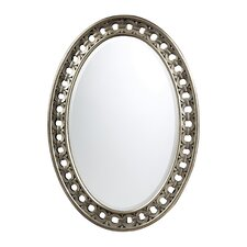Sumner Mirror in Antique Silver