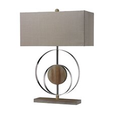 "Shiprock 23"" H Table Lamp with Rectangle Shade"