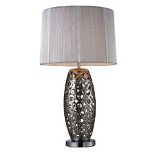 "Trump Home Varick 29"" H Table Lamp with Drum Shade"