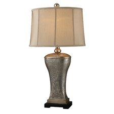 "Trump Home Lexington Avenue 34"" H Table Lamp with Empire Shade"