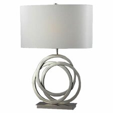 "Trinity 25"" H Table Lamp with Drum Shade"