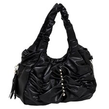 Forsythia Faux Leather Large Handbag