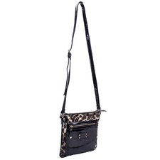 Emet Quilted Faux Leather Cross Body Bag