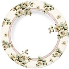 Katie Alice Cottage Flower Dinner Plate in Cream