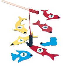 1 - 2 - 3 Fish Game