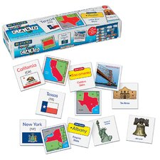 50 States Wall Pocket Chart Card Set