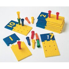 <strong>Patch Products</strong> Number Puzzle-boards & Pegs 10