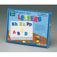 Magnetic Table Top Letter Activity