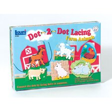 <strong>Patch Products</strong> Farm Animals Dot-2-dot Lacing