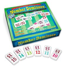 Number Dominoes Premium Double 15 Set