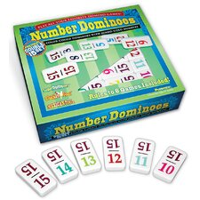 Number Double Dominoes (Set of 15)