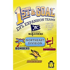 1st & Goal: Northeast Division Board Game