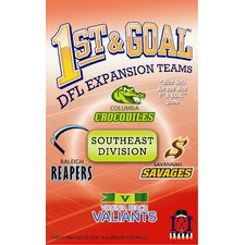 1st & Goal: Southeast Division Board Game