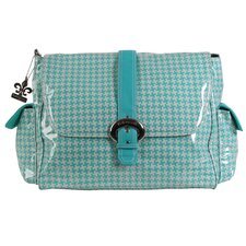 Houndstooth Satchel