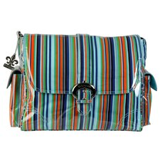 Mardi Gras Stripes Satchel