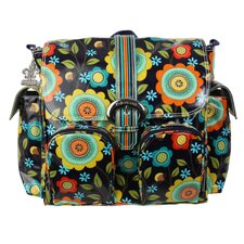 Double Duty Floral Stitches Satchel