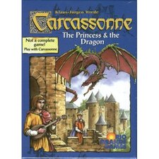 Carcassonne Princess / Dragon Board Game