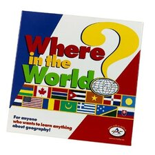 Family Games Where in the World Board Game
