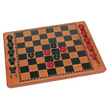 Checkers Set in Red / Black