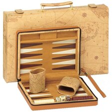 Map Backgammon in Tan