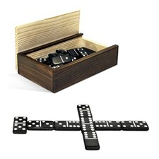 <strong>Wood Expressions</strong> Dominoes 28 Piece Set