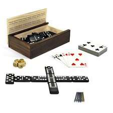 10-in-1 Combination Dominoes and More Set