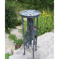 Grape Interlocking Round Stand Planter