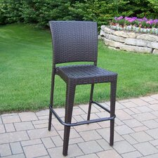 <strong>Oakland Living</strong> Elite Wicker Barstool (Set of 2)